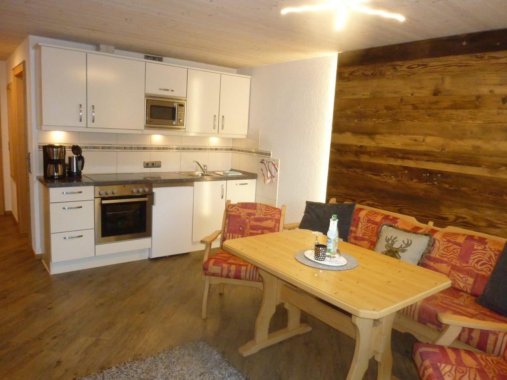 Küche - Wohnraum
